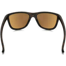 Oakley Reverie Brille Damen matte brown tortoise/tungsten iridium polarized